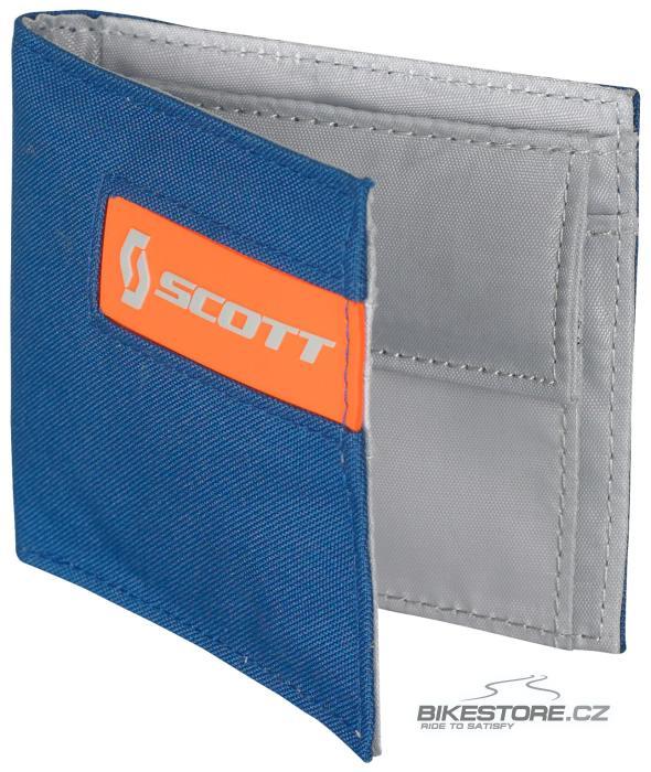 SCOTT Small Multi Color peněženka (220587) Modrá/oranžová barva