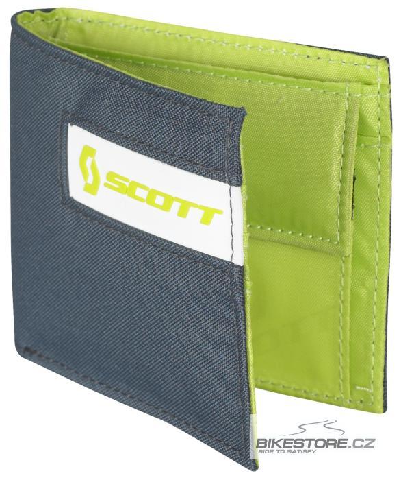 SCOTT Small Multi Color peněženka (220587) Šedá/limetkově zelená barva