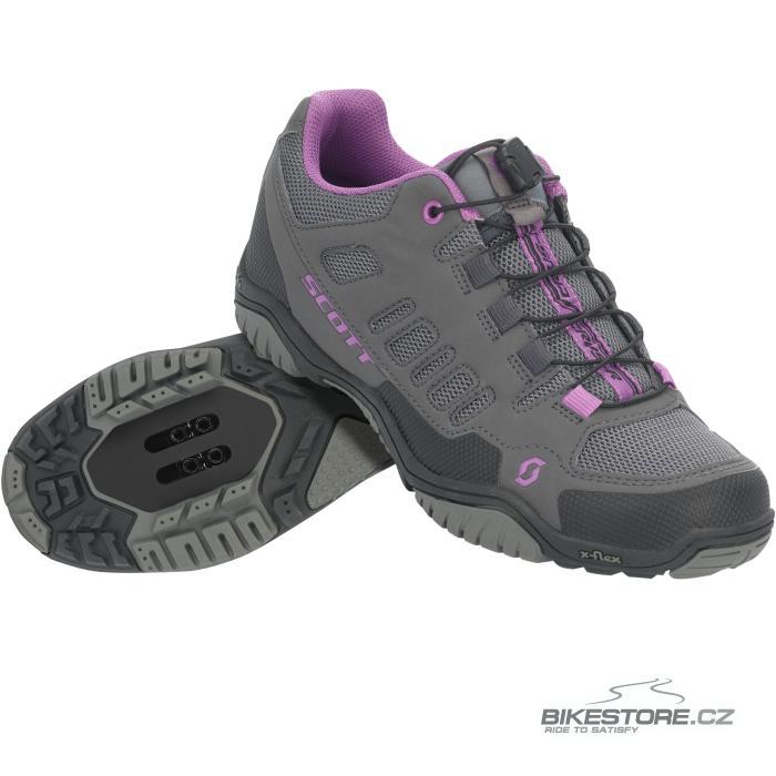 SCOTT Sport Crus-r Lady dámské tretry (251845) 40, antracitová/fialová barva