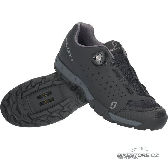 SCOTT Sport Trail Evo Boa pánské tretry (281217)   vel 43, black/dark grey