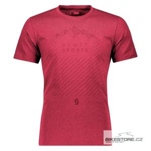 SCOTT Tee 60 Casual tibetan red tričko (266220)