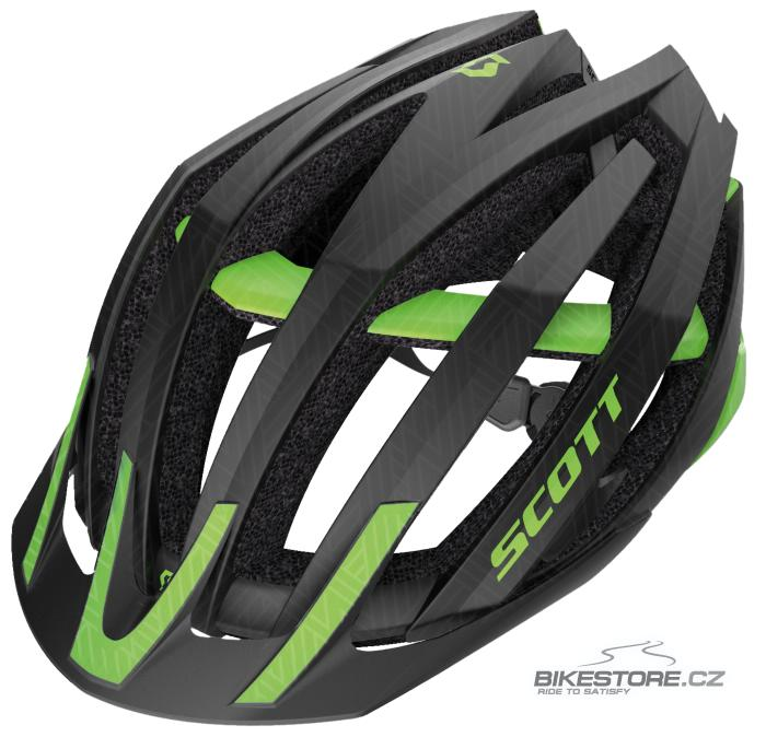 SCOTT Vanish Evo MTB helma (230120) Velikost L (59-61 cm), černá/zelená barva