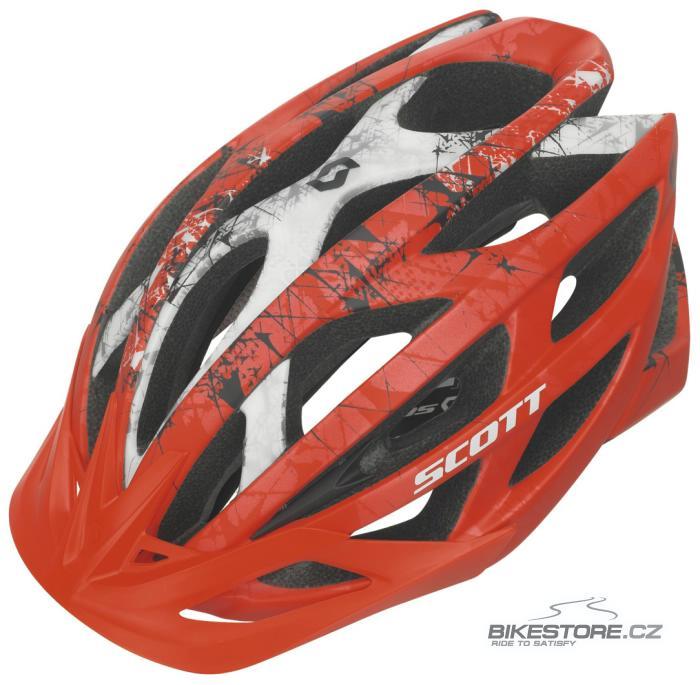 SCOTT Wit helma (230148) Velikost L (59-61 cm), matně červená barva