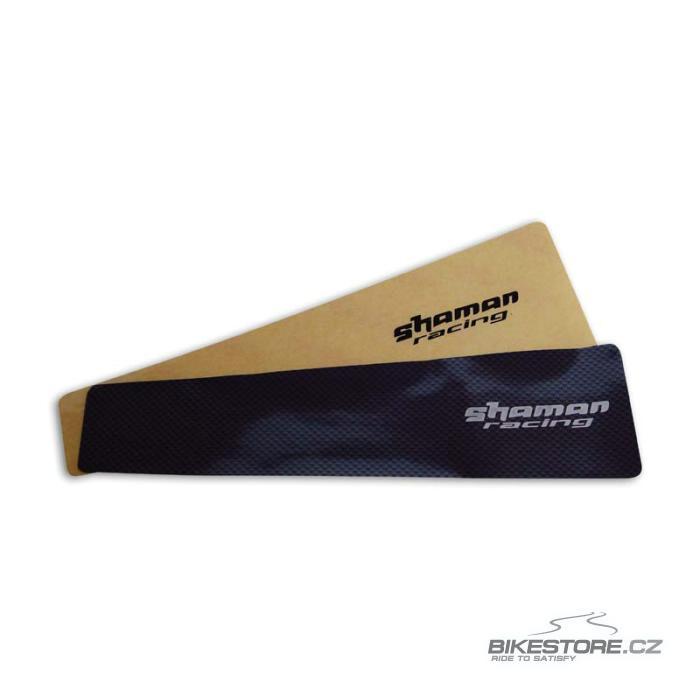 SHAMAN RACING XL   ochranná samolepka proti řetězu - velká Barva karbonu