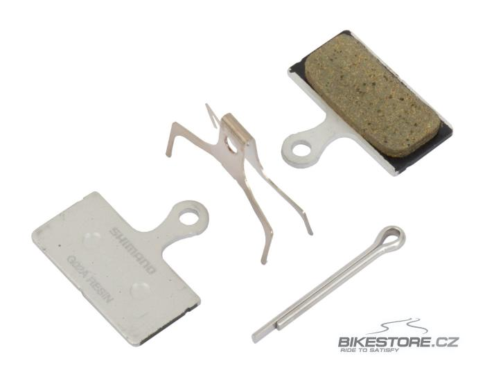 SHIMANO G02A brzdové destičky (1 pár)