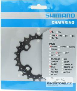 SHIMANO Y1NA24000/SLX náhradní převodník (2x10)