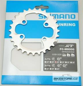 SHIMANO Y1RL28000/Deore XT náhradní převodník (2x11)