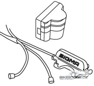 SIGMA SPORT BC 1609 / BC 16.12 náhradní kabeláž kadence (00425)
