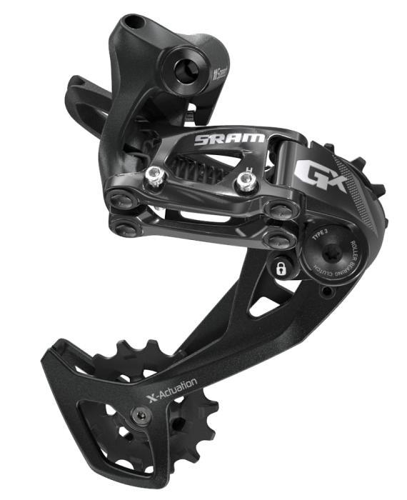 SRAM GX Black přehazovačka (2x11) Střední vodítko