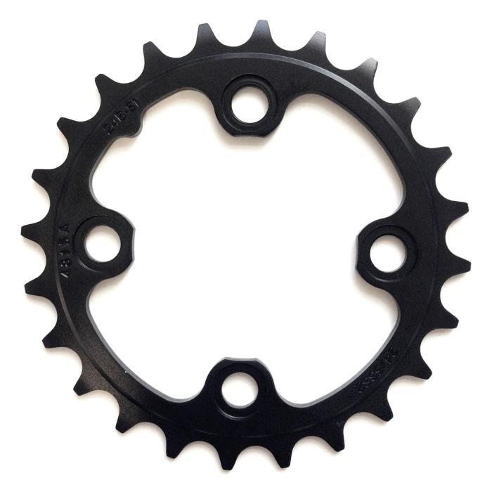 SRAM MTB AL5 Blast Black No Pin náhradní převodník (2x11) 24 zubů