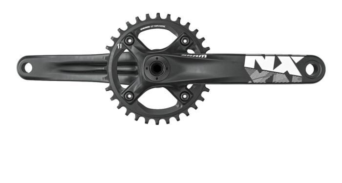 SRAM NX BB30 (11) kliky (bez osy) Délka klik 175 mm