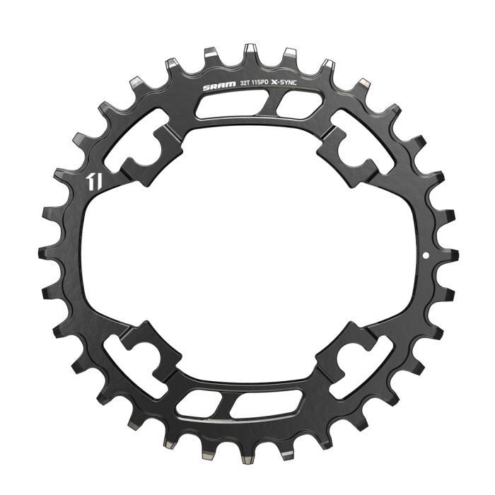 SRAM X-Sync Steel Black náhradní převodník 32 zubů