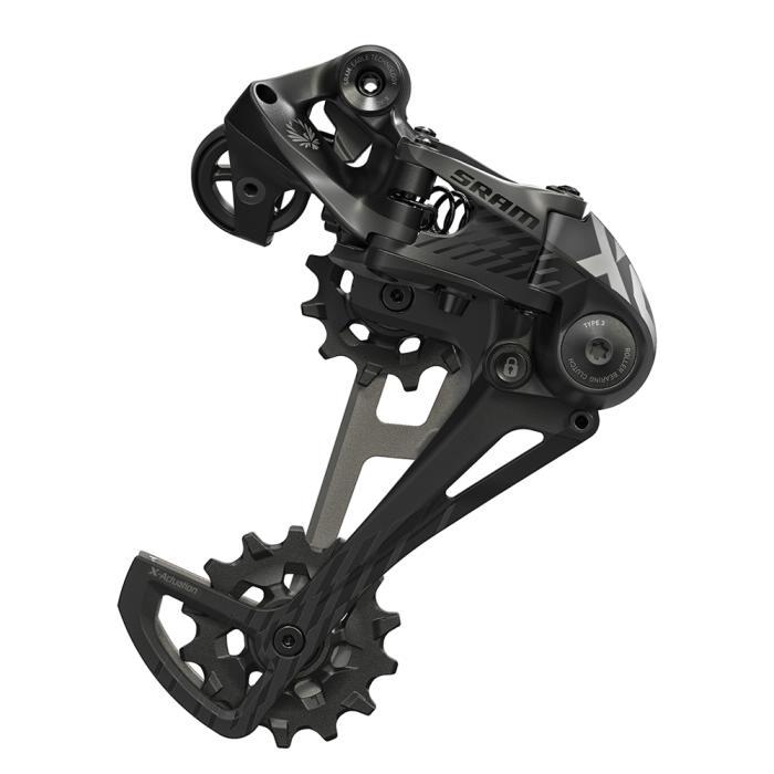 SRAM X01 Eagle 12s přehazovačka Černá barva