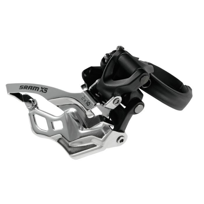 SRAM X5 přesmykač (2x10) Dolní tah