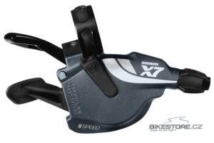 SRAM X.7 (9) řadící páčky - bez objímek a lanek (pár)