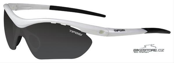 TIFOSI Ventus brýle Bílá barva, vyměnitelná skla (Smoke, AC Red, Clear)