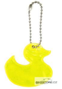 WOWOW Duck reflexní přívěšek (2 ks)
